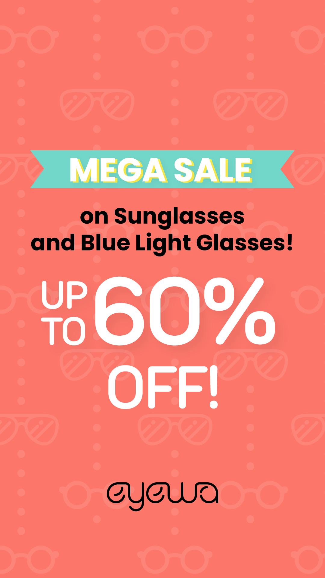 60 Off On Sunglasses And Blue Light Glasses Light Blue Light Glasses