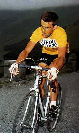 Tommy Simpson rode to his death in the Tour de France so doped that he did not know he had reached the limit of his endurance. He died in the saddle, slowly asphyxiated by intense effort in a heatwave after taking methylamphetamine drugs and alcoholic stimulants