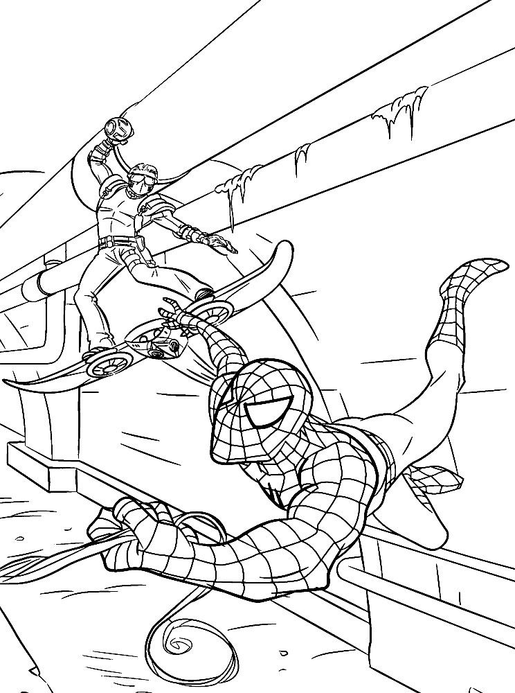 spider man printable sketchfree downloadhttp