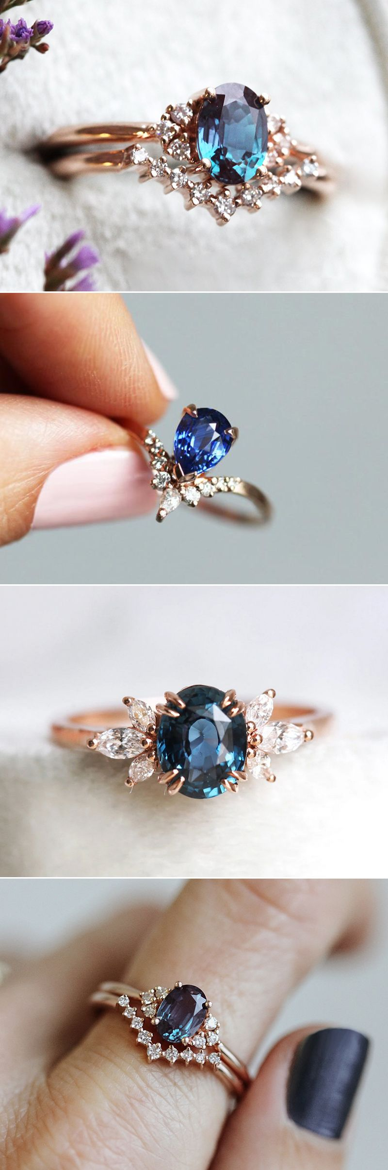 Why Colored Stone Engagement Rings Are Crazy Popular? 6