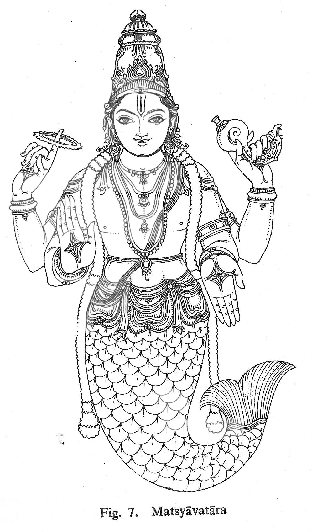 Line Art Hindu Gods : Hindu gods pencil coloring pages