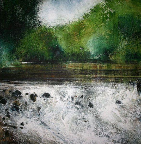 Stewart Edmondson(British)    River Water in my Eyes   2009    Acrylic on Paper