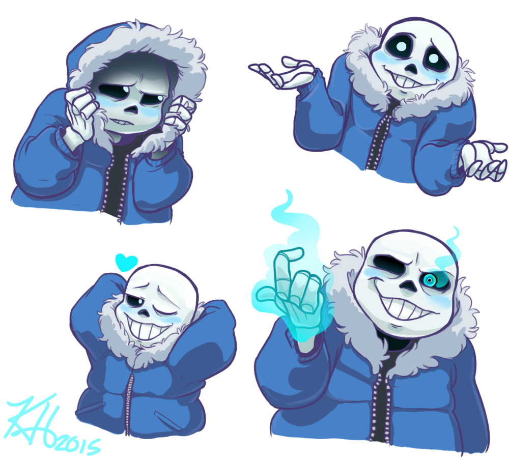 "kimithesketchpad: "" Blushing Sans for the Bone Zoners~ """
