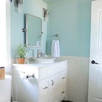 Palladian Blue Design Decor Photos Pictures Ideas Inspiration Paint Colors And Remodel Palladian Blue Bathroom Palladian Blue Blue Bathroom Paint