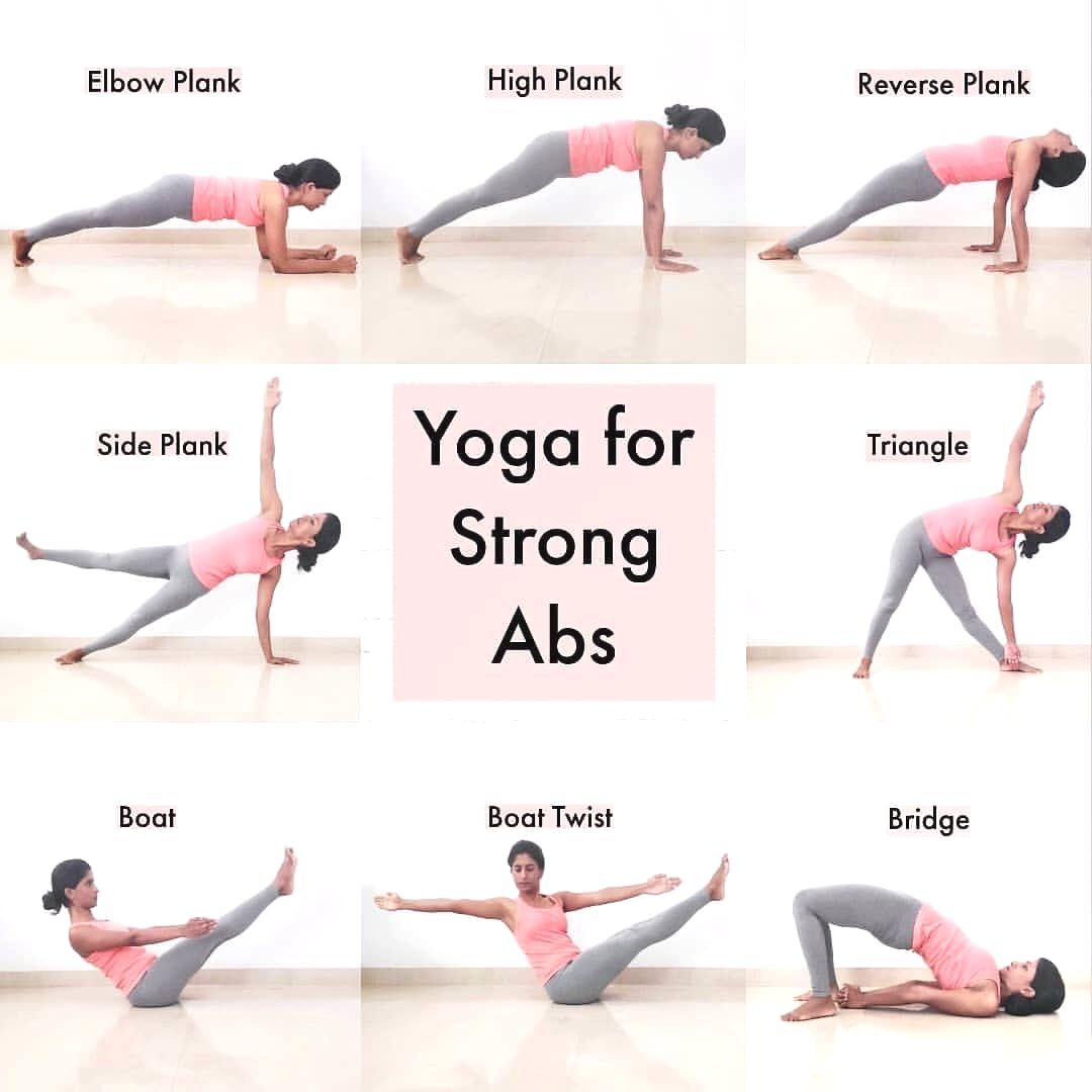 Yoga For Strong Abs These Postures Work On Strengthening Your