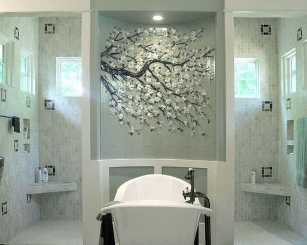 Japanese Wallpaper Bathroom Murals Design