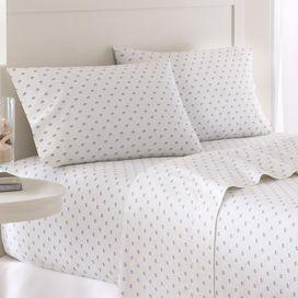 Showcasing A Classic Skipjack Motif This Cotton Sheet Set Brings