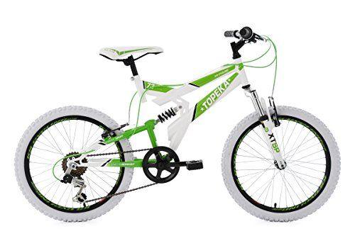 Ks Cycling Kids Full Suspension Mountain Bike 20 Topeka White