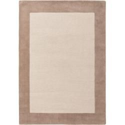 Photo of benuta Naturals wool carpet New Frame beige 160×230 cm – natural fiber carpet from Wollebenuta.de