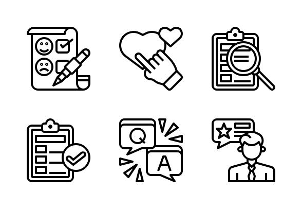 Customer Service Icons By Nareerat Jaikaew Customer Service Icon Customer