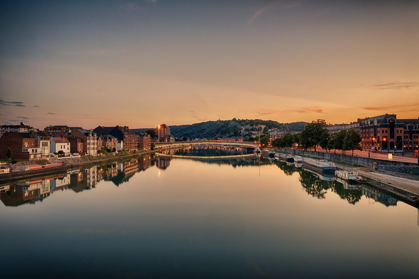 The Meuse River in Namur by Quanah Zimmerman on 500px