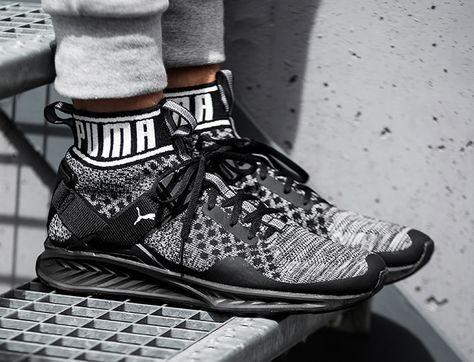 Puma Ignite evoKNIT #sneakers #trainers #pumaigniteevoknit. Sneakers Fashion Men's ...