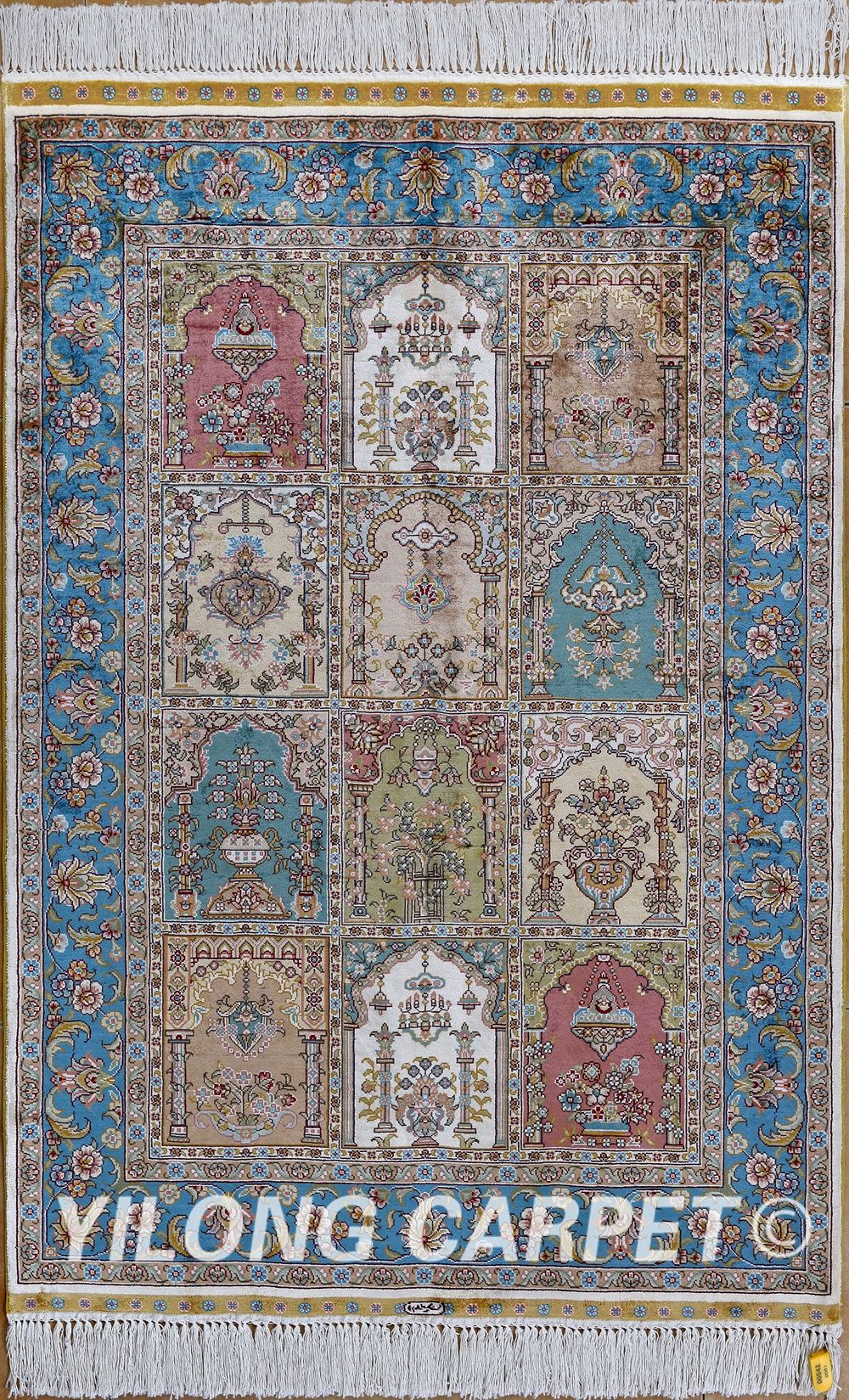 Carpet Chinese Hand Knotted Silk Rug