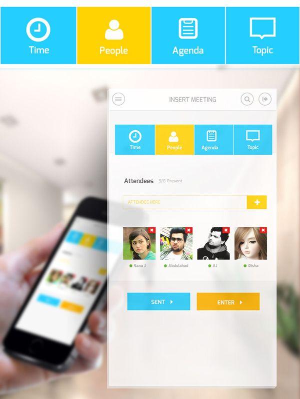 Mobile App Design Inspiration \u2013 Oxbix element user interface
