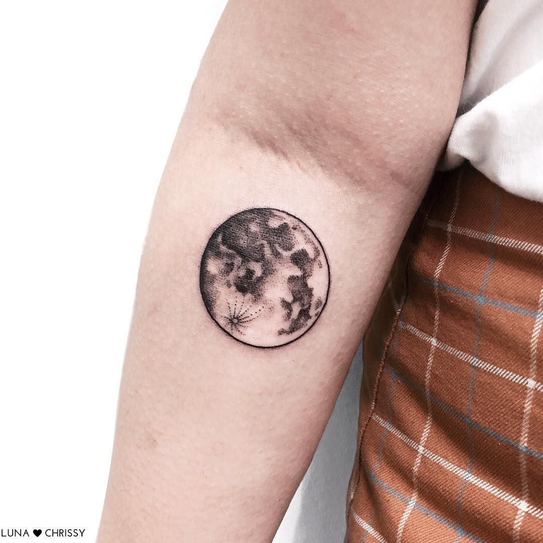 Full Moon Moon Tattoo Full Moon Tattoo Tattoos