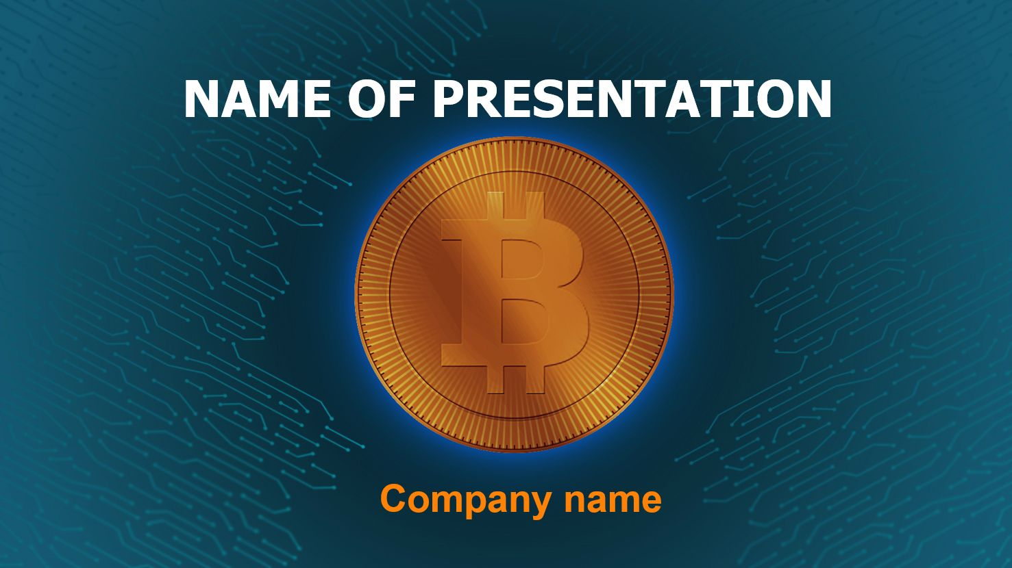 Free Buy Bitcoin Powerpoint Template And Theme This Beautiful And