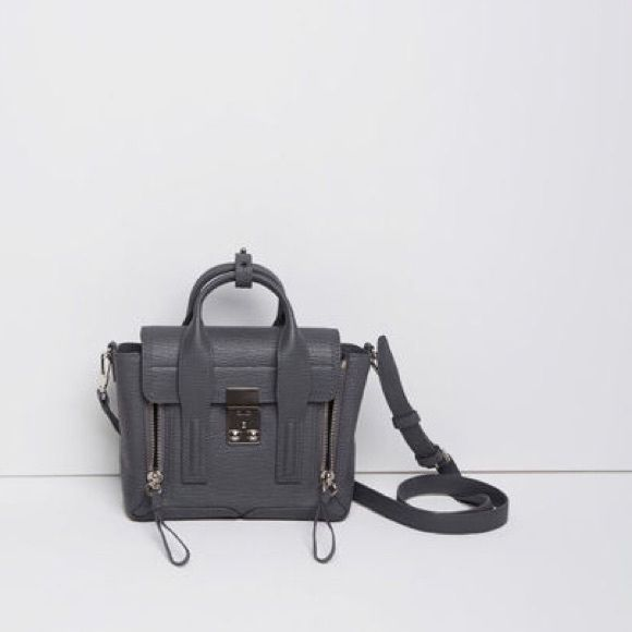 4f90f54c266aa ISO 3.1 Phillip Lim Storm Mini Pashli Bag In search of 3.1 Phillip Lim mini  Pashli grey Storm color or shark embossed in Blk Wht but can t afford  regular ...