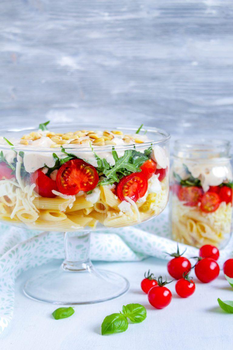 Italienischer Schichtsalat Rezepte, Lecker, Schichtsalat