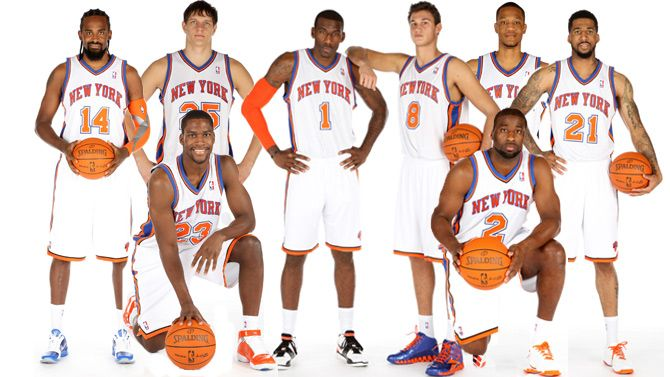 New York Knicks Team  b9e5abafc