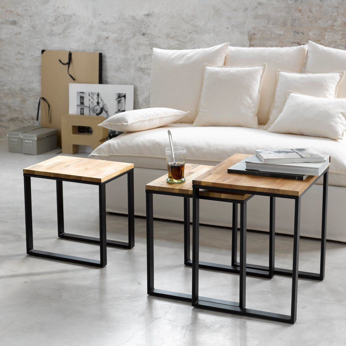 les 25 meilleures id es de la cat gorie table basse gigogne sur pinterest gigogne table. Black Bedroom Furniture Sets. Home Design Ideas