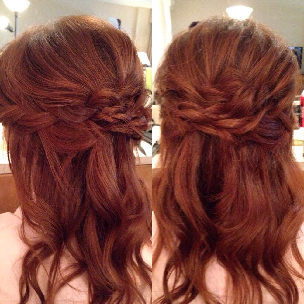 formal hair styles down hair updo specialoccasion wedding bridesmaid 8495 | 897ca3ca2bd08a956a8495e4b3d16129