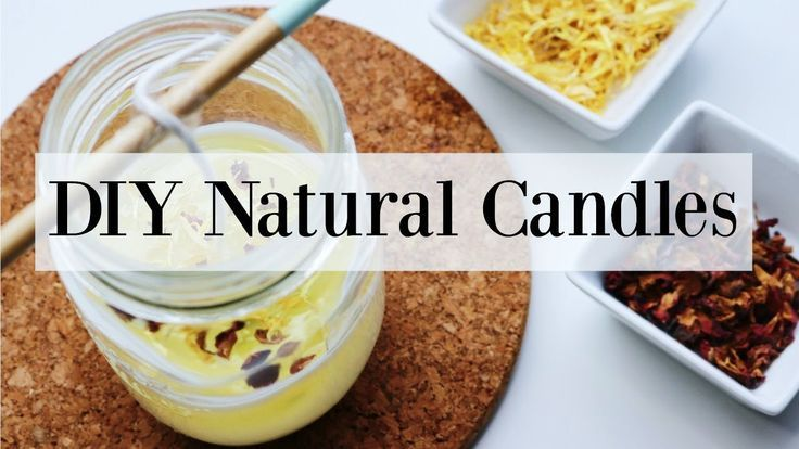 How to Make Candles with Essential Oils Homemade Summer