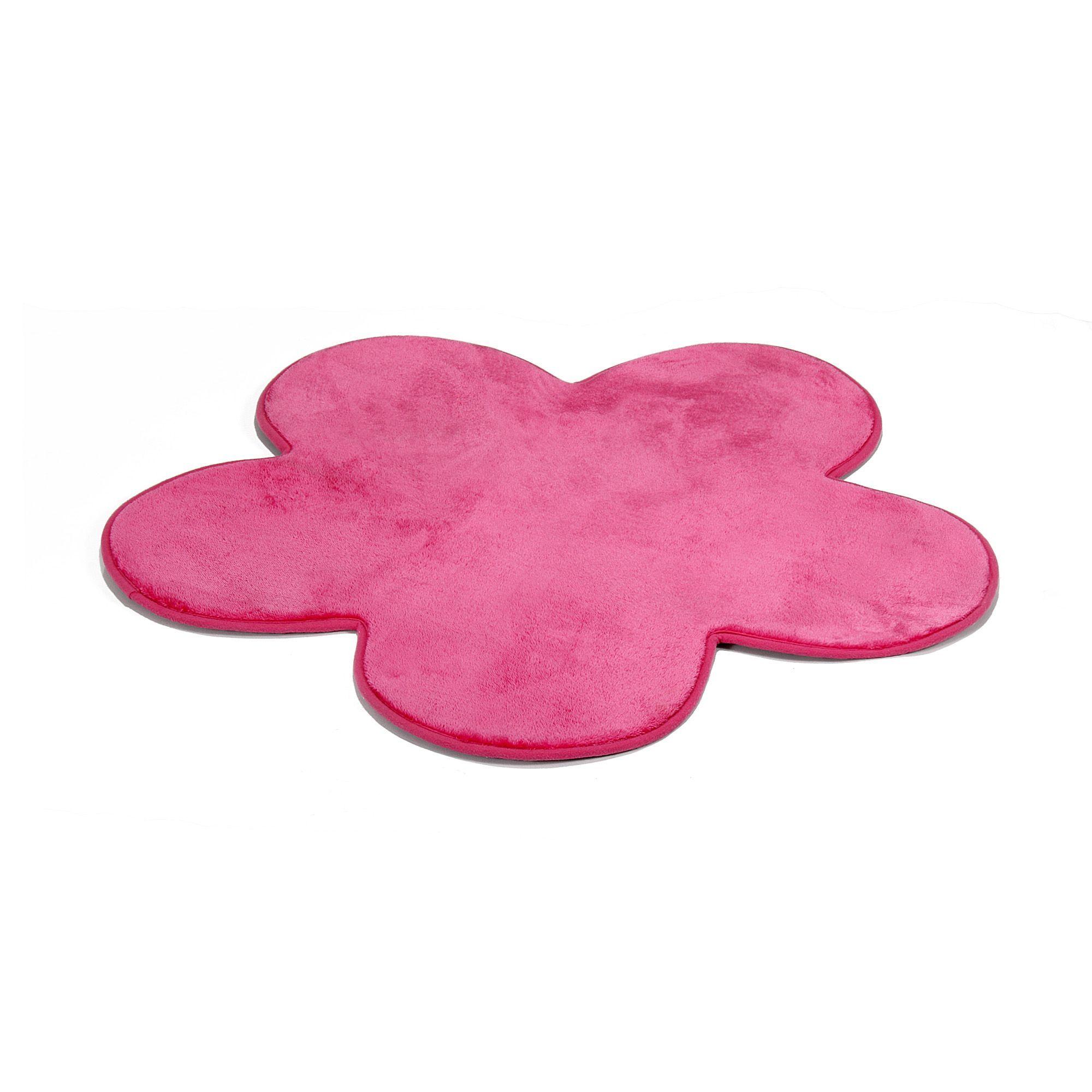 Tapis Rose En Forme De Fleur   Sweet   Décoration Maison Et Objets  Décoration   Tapis   Décoration Intérieur