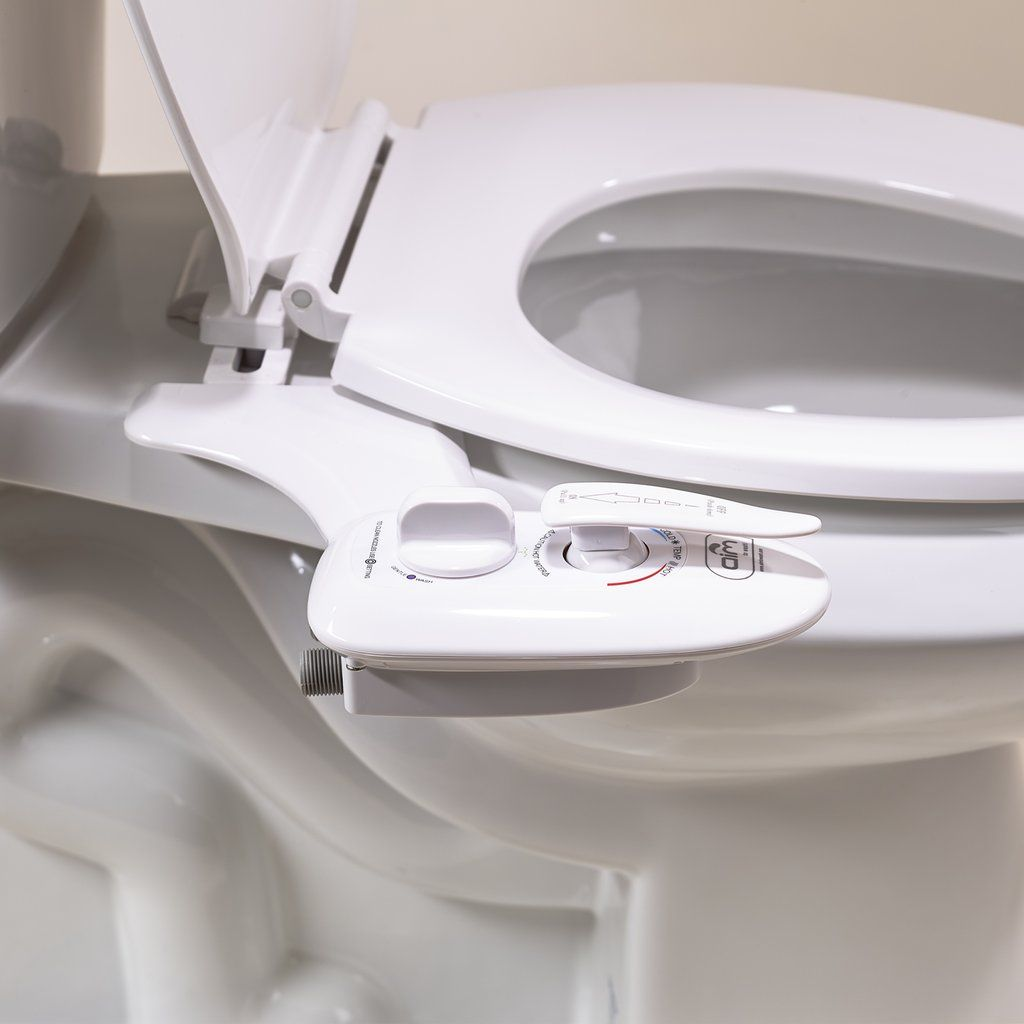 Hot Water Bidet Attachment With Dual Nozzles Quick Release Bidet Attachment Bidet Bidet Toilet Attachment