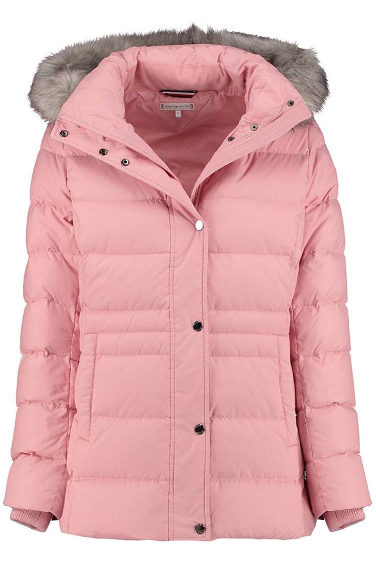 Tommy Hilfiger Damen New Tyra Down Coat Mantel In 2020 Jacken Daunenjacke Daunen Jacke