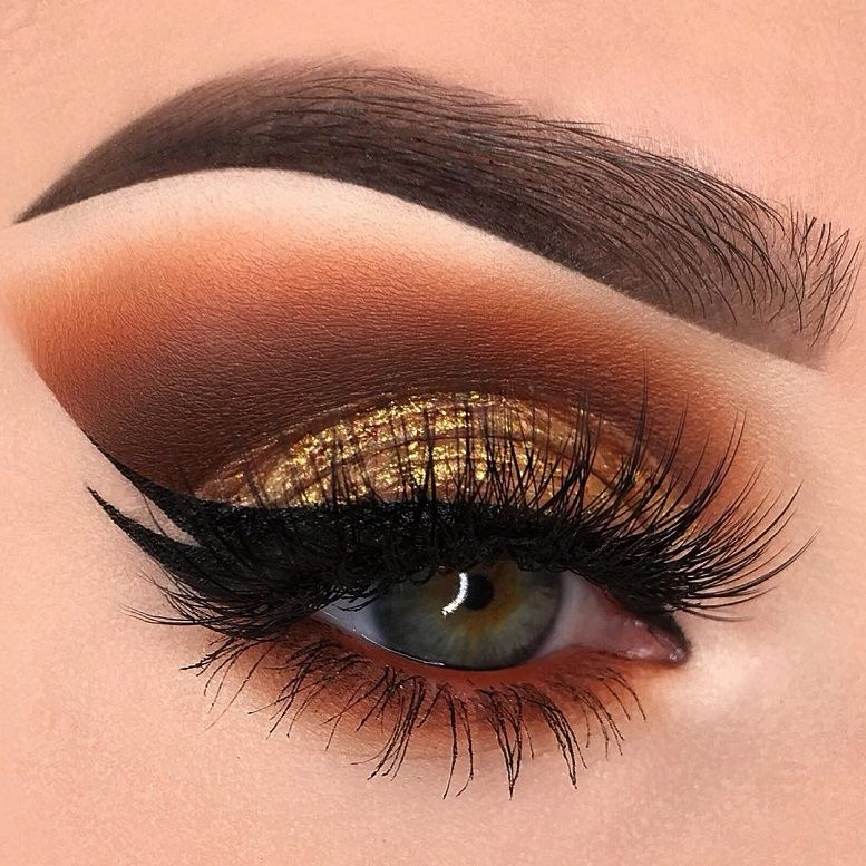 Fabulous eye makeup ideas make your eyes pop - gold bronze eye makeup #eyemakeup #makeup #eyes #beauty mua #eyeshadow