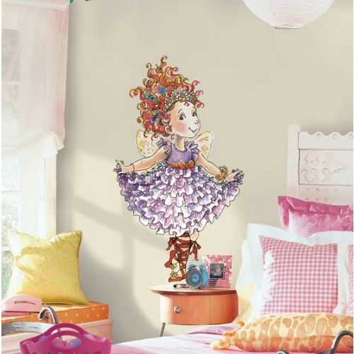Roommates Fancy Nancy Giant Peel And Stick Wall Decals Fancy