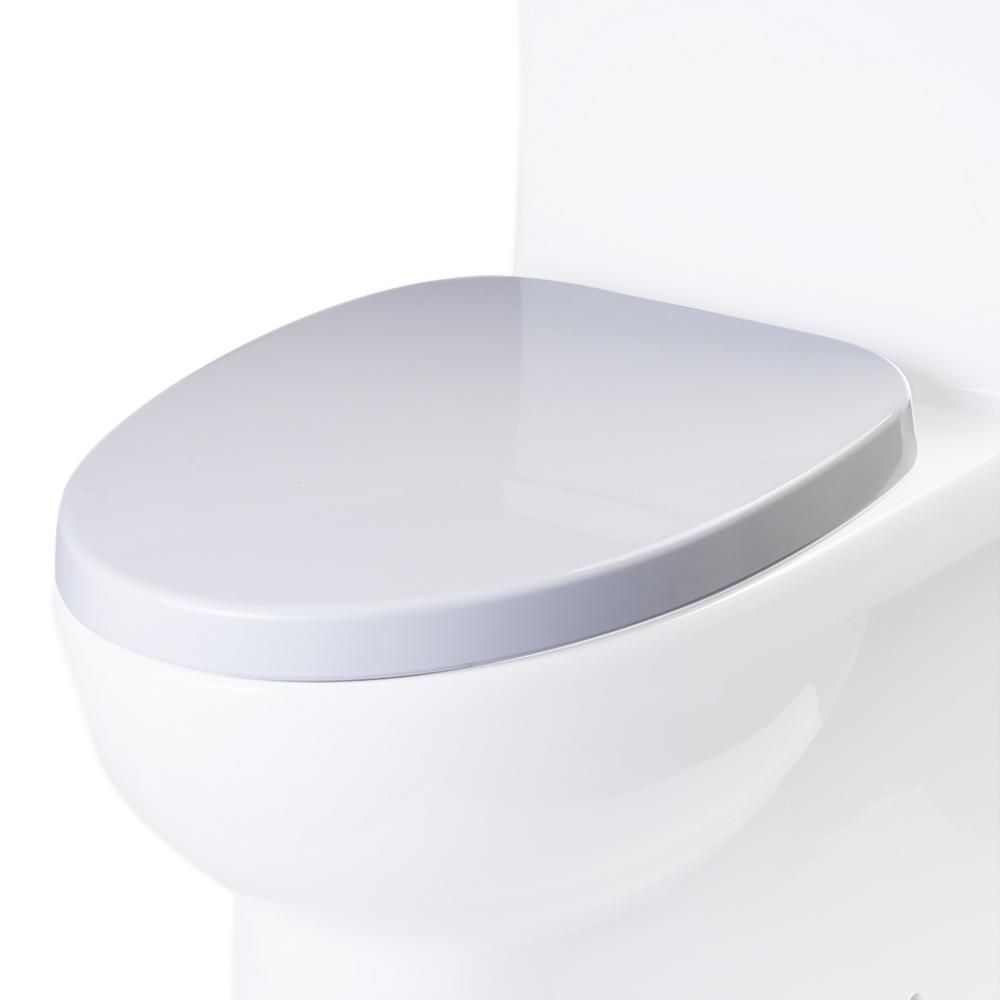 Eago R 359seat Elongated Closed Front Toilet Seat In White
