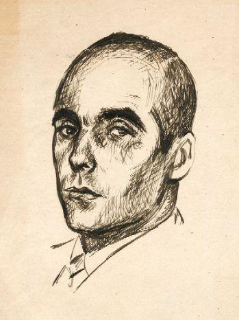 Retrat de Tomàs Garcés, Josep Obiols. / Biblioteca de Catalunya