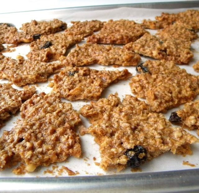 Cleo Coyle Recipes.com: Cleo Coyle's Oatmeal Cookie Brittle (No Flour, No Butter, No Kidding!)