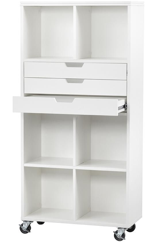 $174__ Avery 6-Cube Plus 3-Drawer Tall Mobile Cart - Rolling Storage  sc 1 st  Pinterest & $174__ Avery 6-Cube Plus 3-Drawer Tall Mobile Cart - Rolling Storage ...