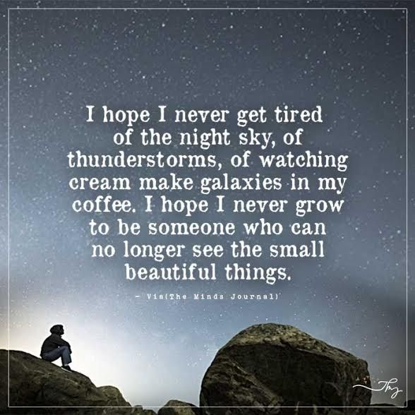 I Hope I Never Get Tired Of The Night Sky Themindsjournalcom