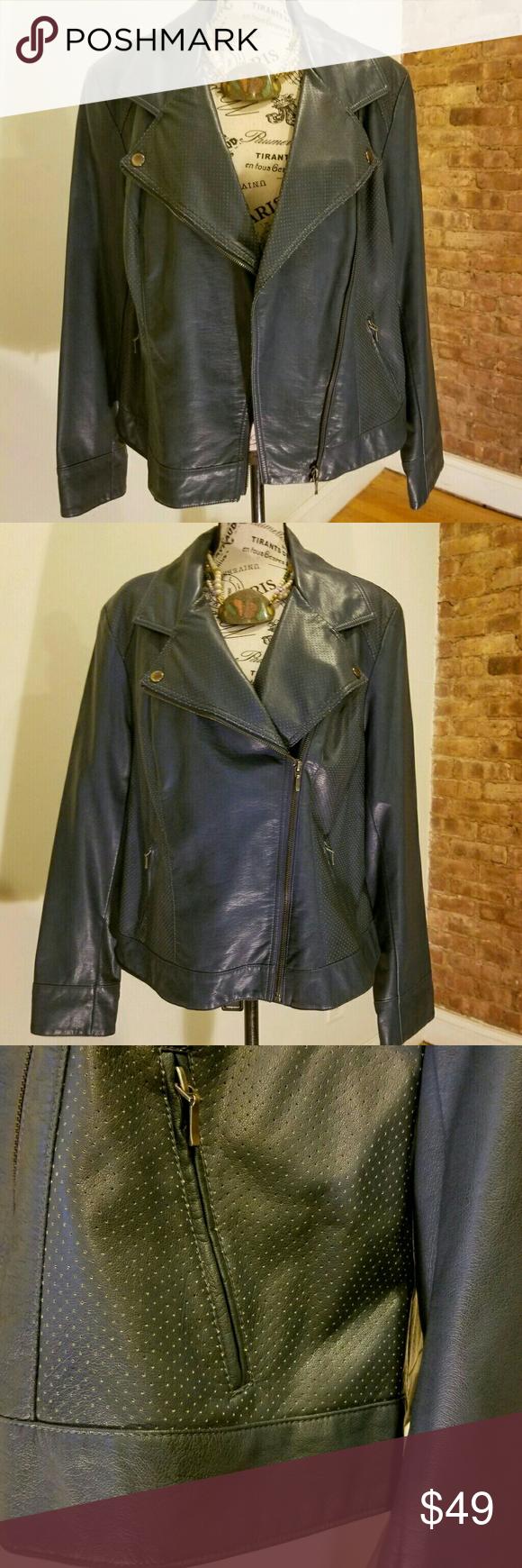 Inc International Concepts Faux Leather Jacket Faux Leather Jackets Leather Jacket Clothes Design [ 1740 x 580 Pixel ]