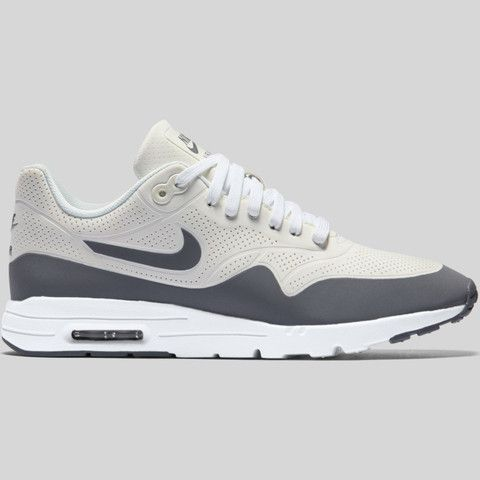 info for e4bce c06c2 Nike Wmns Air Max 1 Ultra Moire Summit White Cool Grey Metallic Silver  (704995-