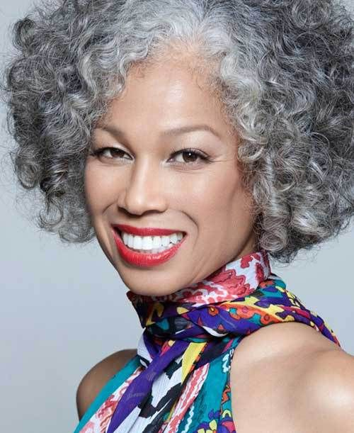 Hairstyles For Black Women Over 50 | Black women, Grey hair and Hair ...
