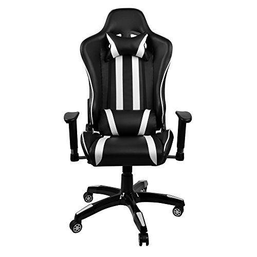 Chaise Bureau 360 Degrs De Rotation Rglable Accoudoir Ergonomique Inclinable Sige Fauteuil Noir