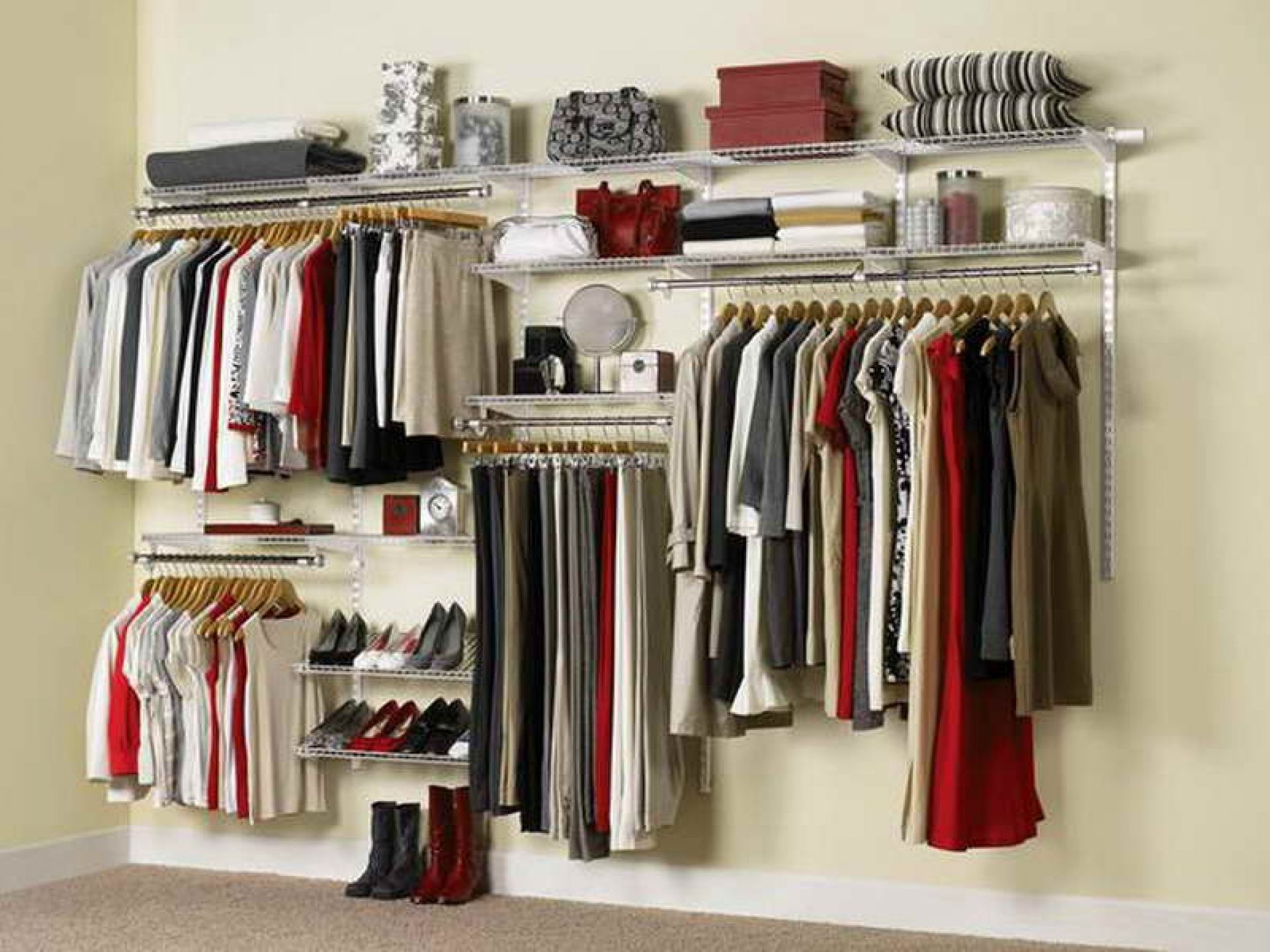 Rubbermaid Fasttrack Closet Design Closet Designs Rubbermaid