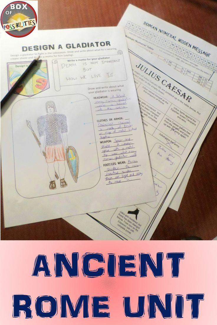 Rome Unit: Ancient Rome - Readings [ 1103 x 736 Pixel ]