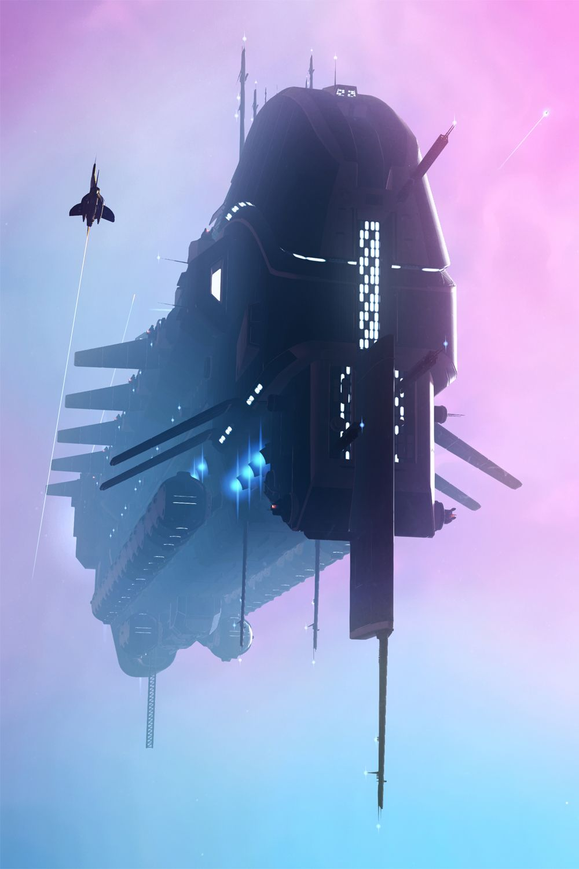COURSE TO NOVA in 2020 No man's sky, Sci fi spaceships