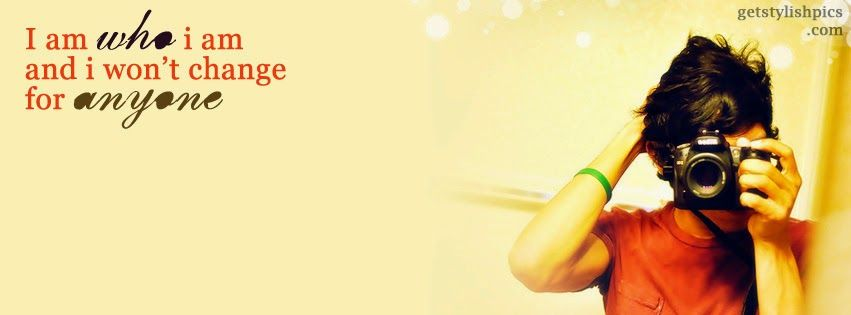 Show your cool attitude with this stylish fb cover.