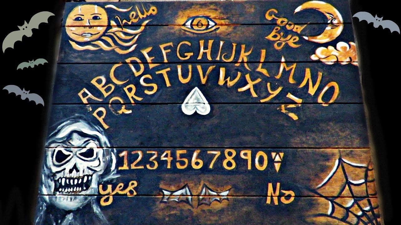 DIY OUIJA TABLE | 31 DAYS OF #JAMOWEEN | Halloween | Pinterest ...