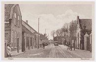 Ansichtkaart van de Heuvelstraat in Dongen (collectie Regionaal Archief Tilburg)