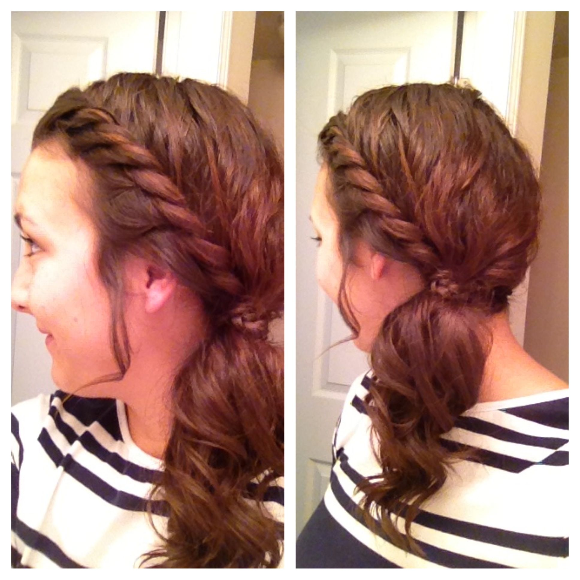 Trying Different Hair Styles DIMyself Pinterest Hair Style