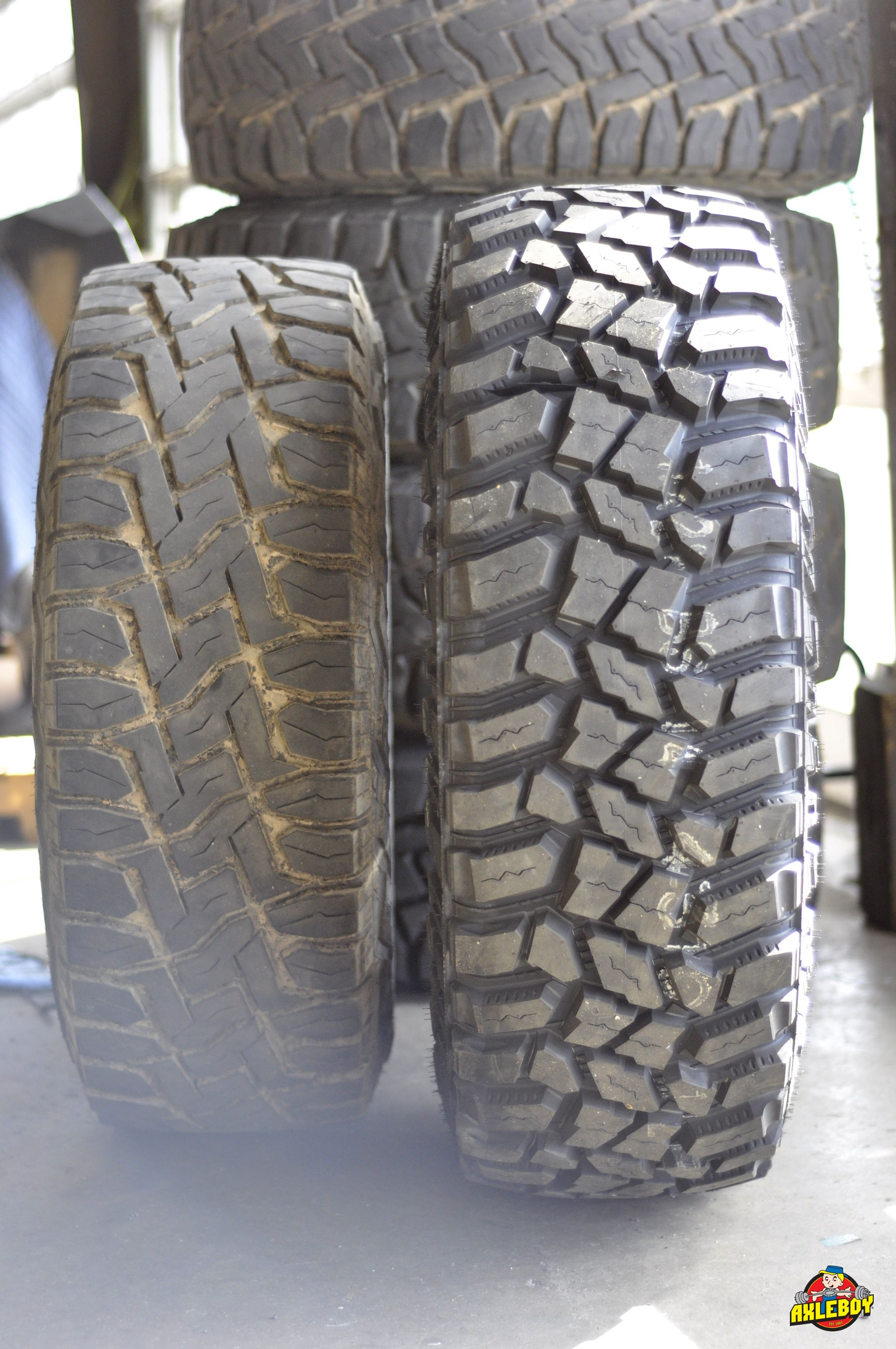 Upgrading From 35 Toyo Tires To 37 Cooper Stt Pros At Axleboy