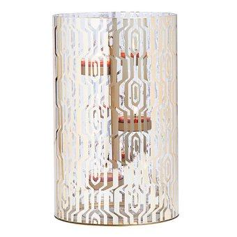 Tribal Chic Hurricaneitem P93437 Let Your Style Be Bold And Make An Impact With In 2020 Glass Hurricane Candle Holder Party Lite Candles Hurricane Candle Holders