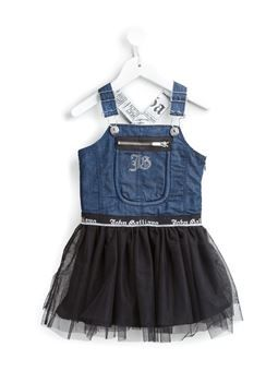 denim dungarees tutu dress
